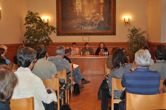 v.li.: Michael Gauer, Regine Kanis, Dorothea Marx (Quelle: Büro MdL Kanis)